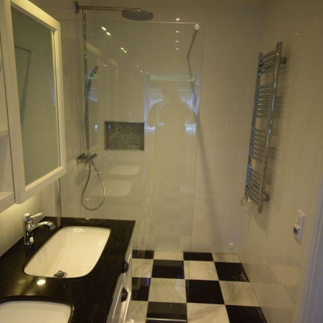 Erfaren inom badrumsrenovering Huddinge