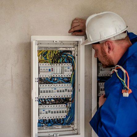 En elektriker i Stockholm